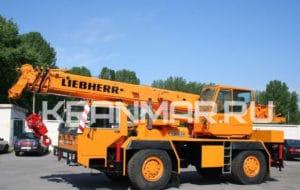 Аренда автокрана Liebherr LTM 1025 (25 т)