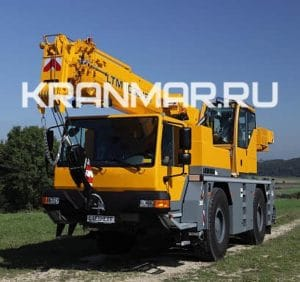 Аренда автокрана Liebherr LTM 1030 (35 т)
