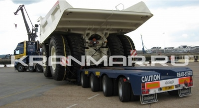 НИЗКОРАМНАЯ ПЛАТФОРМА NooteBoom 50 тонн