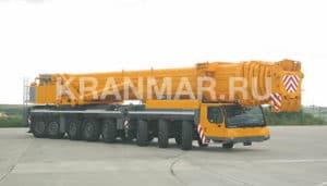 Аренда автокрана Liebherr LTM 1500 (500 т)