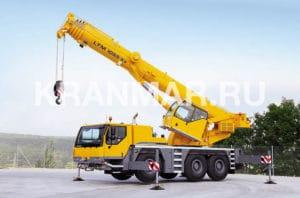 Аренда автокрана Liebherr LTM 1055 (55 т)