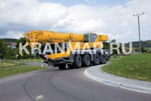Аренда автокрана Liebherr LTM 1070 (70 т)