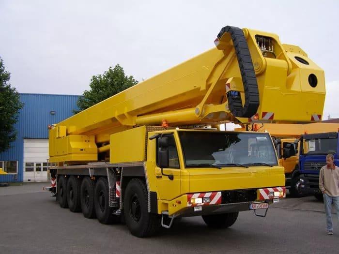 Телескопический подъёмник автовышка 52 метра