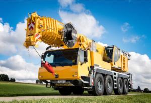 Аренда автокрана Liebherr LTM 1100 (100 тонн)