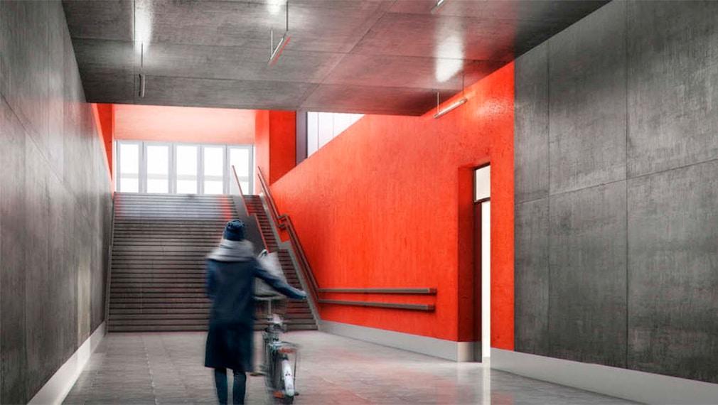 Строительство станции Нижние Мневники с помощью автокранов от компании КранМар.