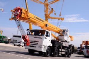 Аренда автокрана 40 тонн в Москве и Мо