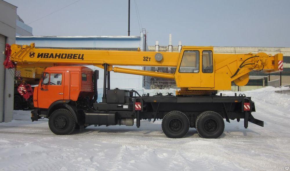 Аренда автокрана 32 тонны в Москве и Мо.