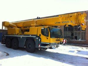 Аренда автокрана Liebherr LTM 1050 (50 т)