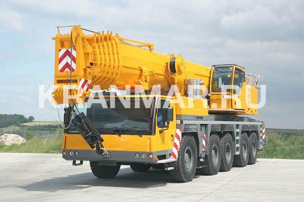 Аренда автокрана Liebherr LTM 1200 (200 т)