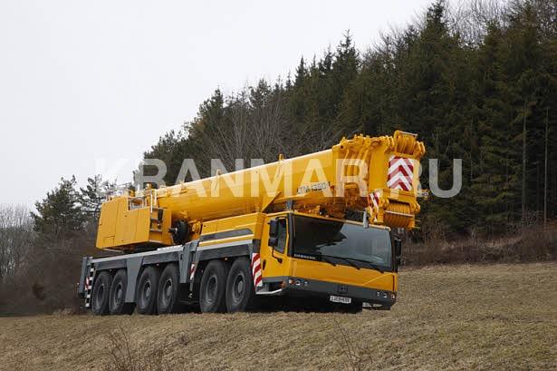 Аренда автокрана Liebherr LTM 1350 (350 т)