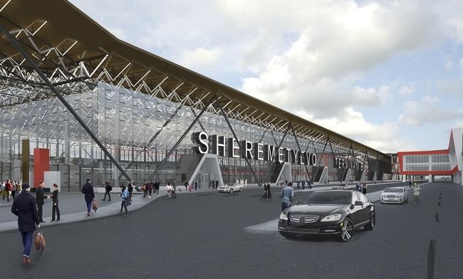 Реконструкция терминала В в Шереметьево.